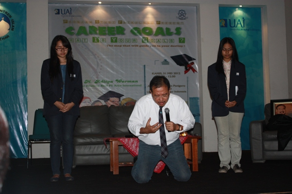 Career Goals with M. Aditya Warman (Co. IR PT. Astra Internasional)